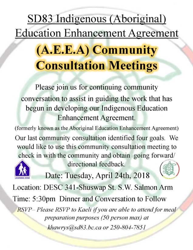 AEEA North Communtity Consultations